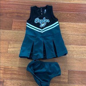 NFL Eagles cheerleader dress size 3T
